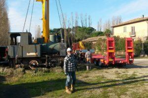 La locomotiva di Marino Marini
